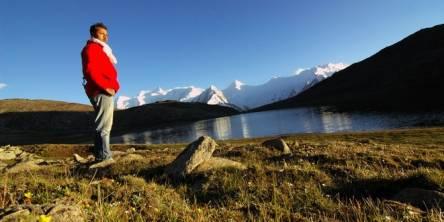 Travel Insurance - Man on Mountains