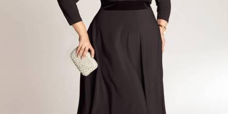 plus size little black dresses