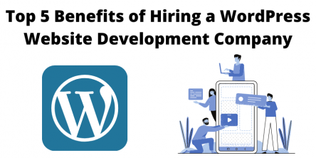 Top 5 Benefits of Hiring a WordPress Website Development Company