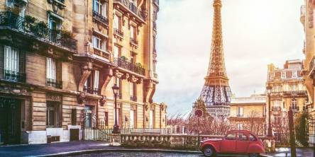 Paris Car Vintage