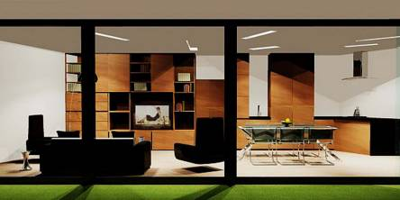 Example of interior design project