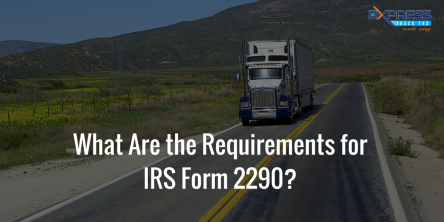 IRS Form 2290- E-filing
