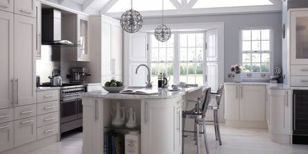 white laminate worktop