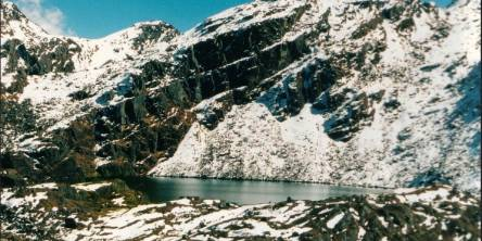 Lake seen in the Langtang Valley Trek