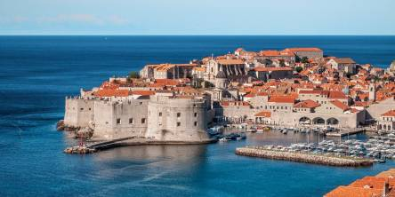 Panorama of Dubrovnik