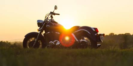 Sunset Summer Motorcycle
