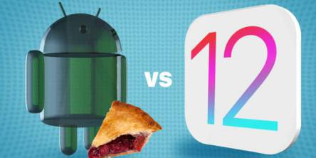 Android Pie vs IOS 12