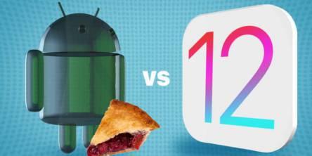 Android Pie vs IOS 12