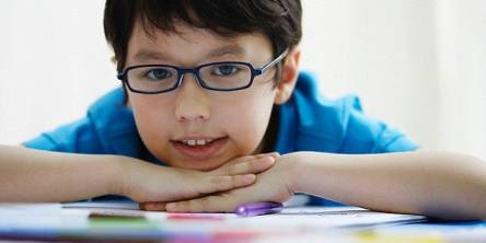 Children with myopia