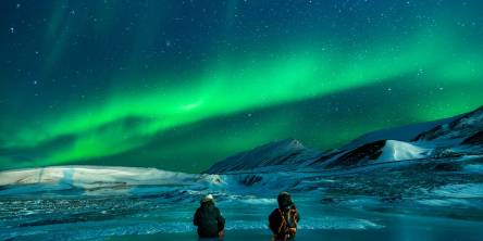The Sights Of The Aurora Lights