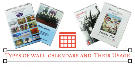 types of wall calendars and their usage