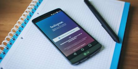 LG Smartphone Instagram