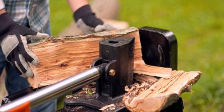 log splitter safety