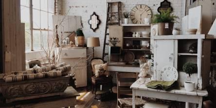 modern vintage room