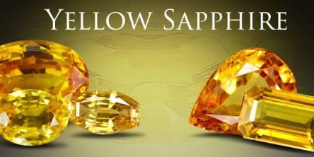 Yellow Sapphire, Pukhraj Stone