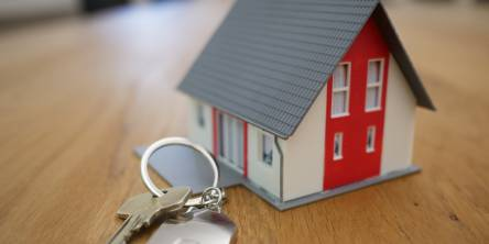 Red House Keyring