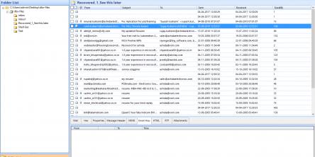 DBX to PST Converter Screenshots