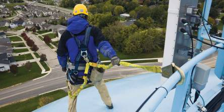 work platforms safety height