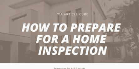 Prepare For The Home Inspection When Selling Your House