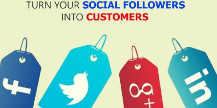 steps to turn social followers into customers