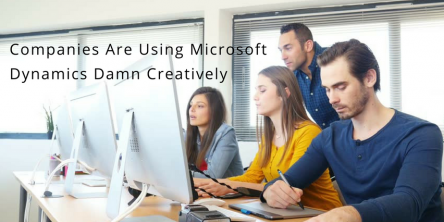 Microsoft Dynamics Damn Creatively