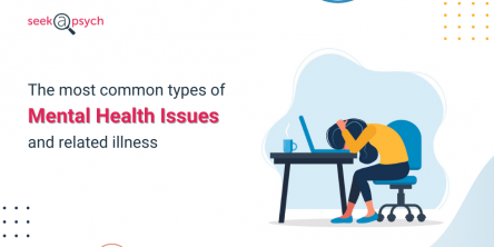 types of mental health issues