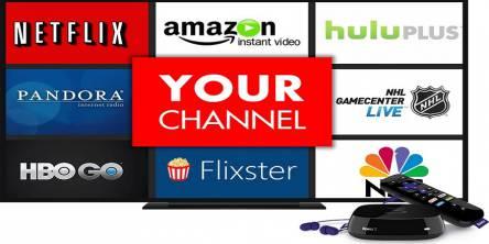 Roku channels