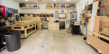 Garage Woodshop