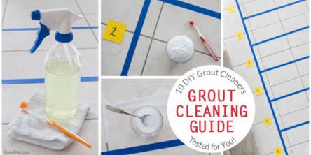 The Ultimate Guide To Cleaning Grout: 10 Diy Tile & Grout Cleaner