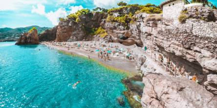 beach in costa brava spain