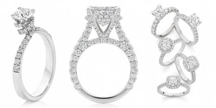 sterling silver engagement rings melbourne