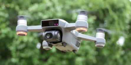 quadcopter drone with video camera