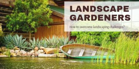 Landscape Gardeners: How to overcome landscaping challenges?
