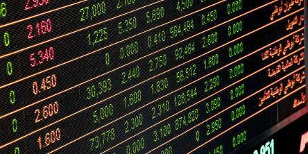 Financial trading Bid and Spread prices