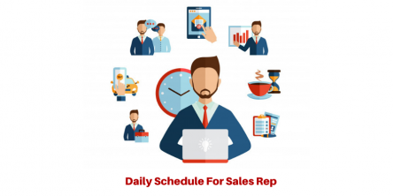 Daily Schedule for Sales Rep