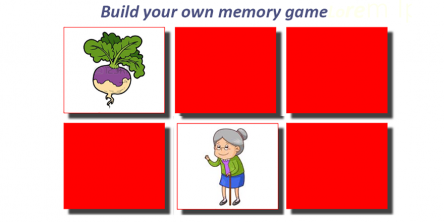 build your own memory game