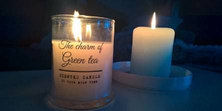 The scent of a candle