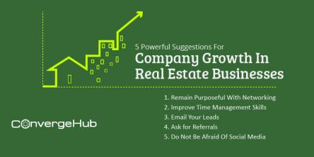 Different Suggestions For Company Growth In Real Estate Businesses