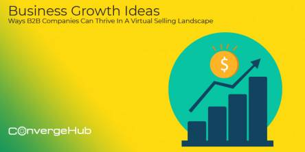 Business Growth Ideas-Different Ways B2B Companies Can Thrive In A Virtual Selling Landscape