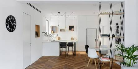 Herringbone interiors