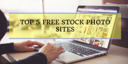 Top 5 Free Stock Photo Sites