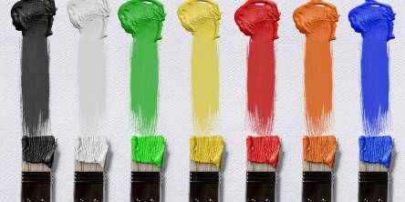 brushes canvas