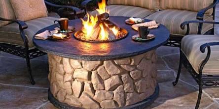 outdoor chimenea