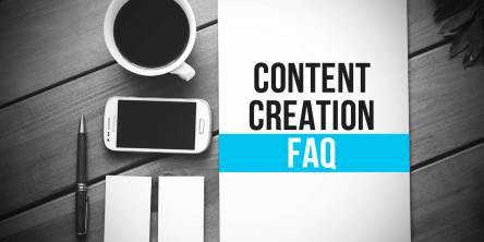 content creation faq