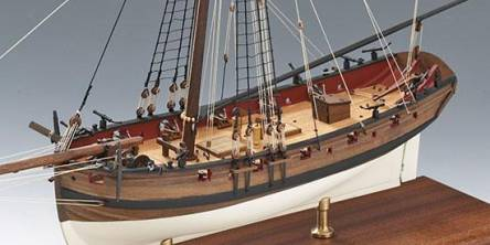 Amati Lady Nelson Wooden Model Ship