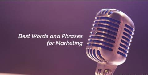 Phrases and words marketing