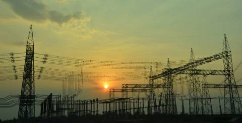 Electricity Is Transmitted From Power Plants At High Voltage