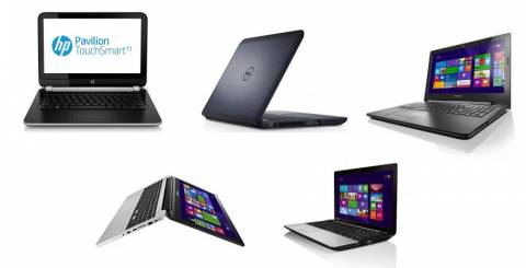 Top 5 Laptops under £500