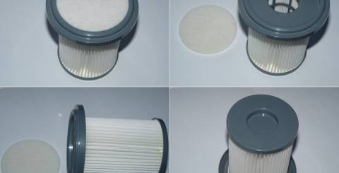 Hepa filter makes healthy vacuum cleaner