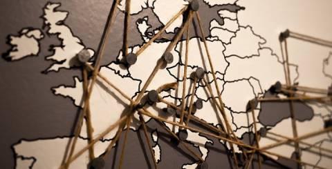 Map hanging